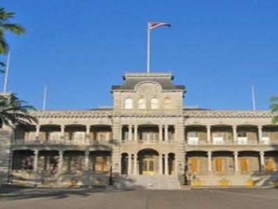 Iolani Palace, Oahu-Hawaii